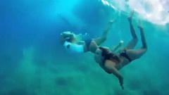 夏威夷独臂冲浪女孩