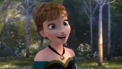 <アナと雪の女王>