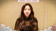 孙娜恩2015年新年快乐的祝福消息!