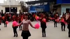 铁家磨广场舞-红红的中国