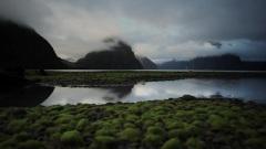 新西兰的山与水