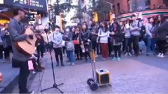 西门街头野子表演