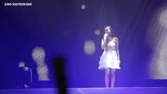 [郑秀妍Jessica]<小幸运>毛吧字幕版+超可爱报幕