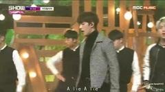 在梦里 + 是谎言啊(A lie) 中字 MBC MUSIC SHOW CHAMPION 161130(@韩流PC应援站)