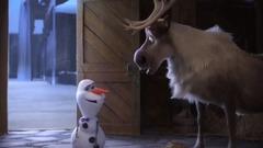 《冰雪奇缘》番外短片《雪宝的冰雪大冒险》预告