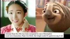 那些长得像卡通人物的南韩明星