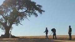 与豹共舞  安吉丽娜朱莉 时尚芭莎150周年纪念刊纳米比亚拍摄