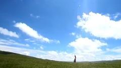 草原走出的姑娘