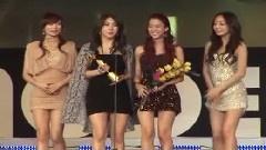 亚洲模特奖颁奖典礼上获得