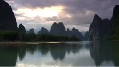 山青水秀太阳高 (桂林山水)