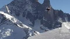 极限滑雪表演