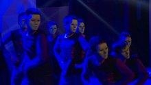 2013百度音乐校园新声代北京分赛开场滑轮表演