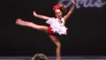 超可爱小美女热舞表演