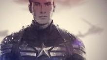 《美国队长2》粉丝水墨视频 队长黑寡妇绝美中国风