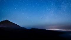 加纳利群岛的夜空