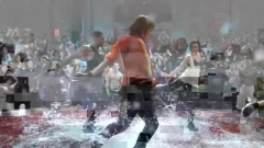 唐人街水中斗舞