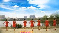 阿中中广场舞 - 桃花开满三月天