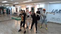 Party(XXO) 24小时练习室 舞蹈分解影像 12/01/18